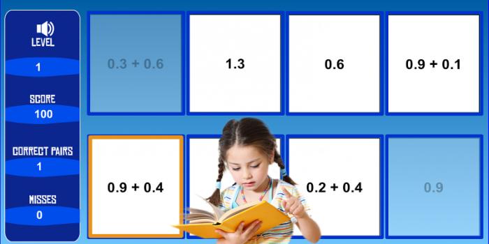 Πρόσθεση και αφαίρεση δεκαδικών αριθμών