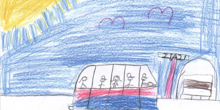 Βόλτα / περιπέτεια με το λεωφορείο