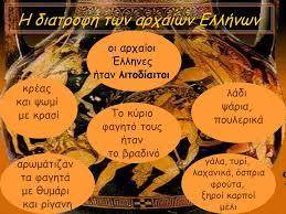 Διατροφικές συνήθειες των αρχαίων