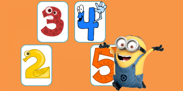 Τα ζευγαράκια των αριθμών 2, 3, 4, 5