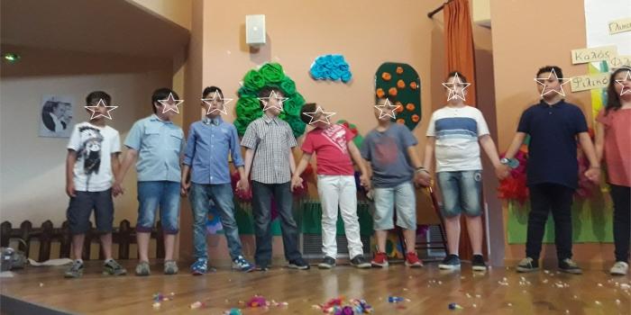 Η Γ2 τάξη στο Φεστιβάλ  Παιδείας 2017 του Δήμου Παύλου Μελά